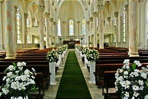 Passadeira Tapete Verde Para Casamento, Festas 5 Metros de comprimento