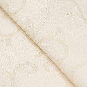Papel de parede Arabesco Creme com Gliter - Classici A91803