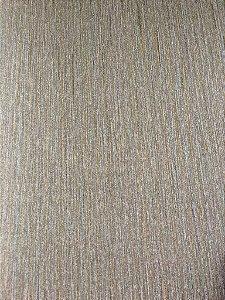 Papel de parede Estilo Gradil Classico Rajado com Marrom Claro e Cinza - Classici A92106
