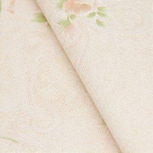 Papel de parede Clássico em Rosas no tom de Rosa e Lilas  - Classici A92001
