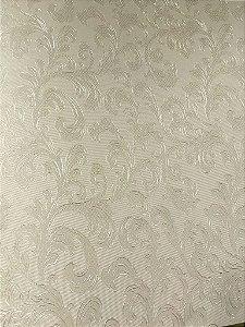 Papel de parede Folhas Floral Abstrato Cinza - Classici A91608