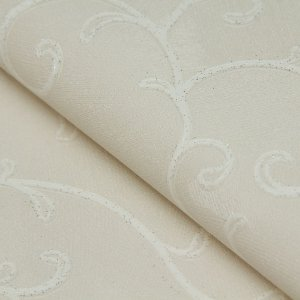 Papel de parede Estilo Ramos branco com Gliter - Classici A91801