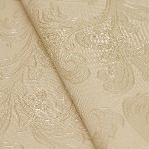 Papel de parede Folhas Floral Abstrato Bege Claro - Classici A91605