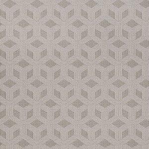 Tecido para Sofá Jacquard Geométrico Cinza - Largura 1,40m - PIS-19