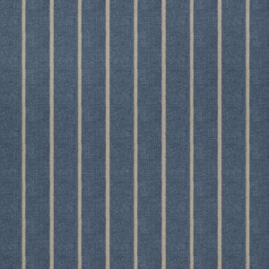 Tecido para Sofá Jacquard Listrado Azul - Largura 1,40m - PIS-26
