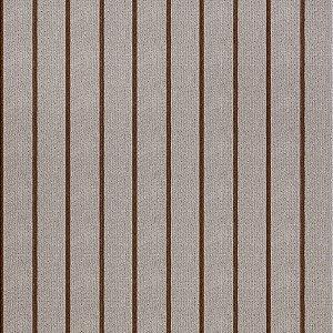 Tecido para Sofá Jacquard Listrado Marrom Largura 1,40m - PIS-31