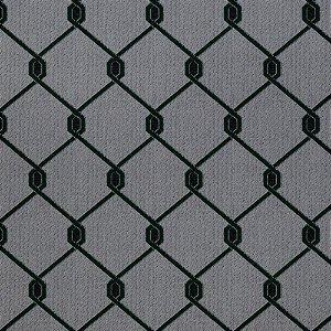 Tecido para Sofá Jacquard Geométrico Verde - Largura 1,40m - PIS-35