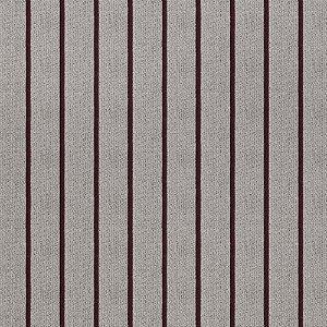 Tecido para Sofá Jacquard Listrado Vermelho - Largura 1,40m - PIS-41