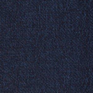 Tecido Jacard Impermeabilizado Rosas em Azul Marinho - Coral 17
