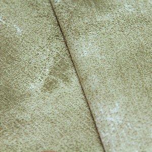 Tecido Estampa Abstrato Tons de Areia - Turquesa 4