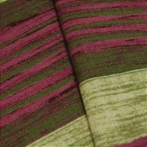 Tecido Estilo Madeira antiga em Verde, Roxo e Branco - Turquesa 16