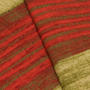 Tecido Estilo Madeira antiga em Vermelho e Verde  - Turquesa 47