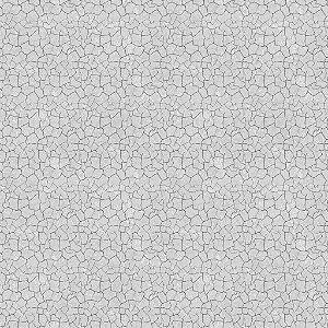 Papel de parede vinílico Estilo Cimento Trincado Cinza - Metrópole 821101