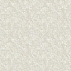 Papel de parede vinílico Estilo Cimento Trincado tons de Cinza e Azul Claro - Metrópole 821102