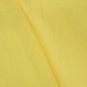 Tecido Jacquard Liso Amarelo - Irl 20