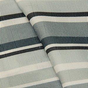 Tecido Jacquard Listrado tons cinza, Preto e Branco - Irl 61