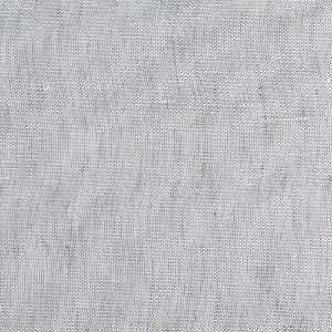 Tecido Para Cortina Linho Doha Gaze Prata Largura 3,00m - DOH10