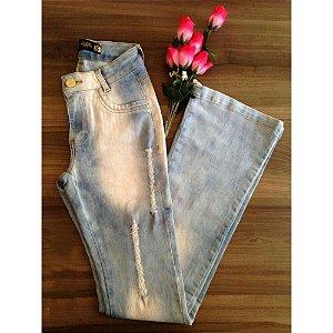 Calça jeans lavada