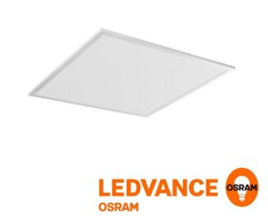 Painel LED de embutir quadrado 62x62cm 40w Bivolt - Ledvance OSRAM