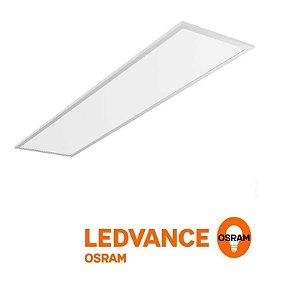 Painel LED de embutir retangular 120x30cm 40w Bivolt - Ledvance OSRAM