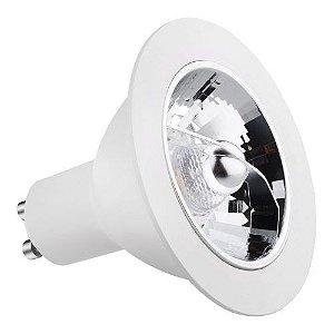 Lâmpada LED AR70 Gu10 8w 2700k Refletora Bivolt - Save Energy