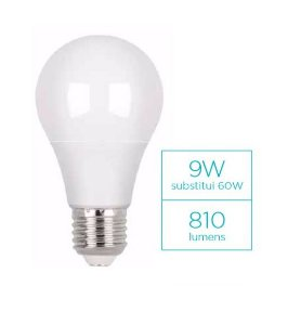 Lâmpada LED Bulbo 9w 810lm bivolt - STH6235 Stella