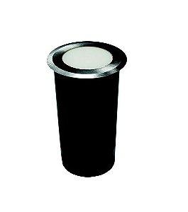 Embutido de Solo Balizador LED 0,85w 2700k Bivolt - IL3941 Inox Escovado
