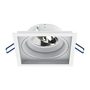 Embutido Ar70 LED Bivolt Branco Microtexturizado - IL4703 Interlight
