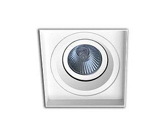 Embutido AR70 LED No-Frame Bivolt Preto Microtexturizado - IL4712-GZ Interlight