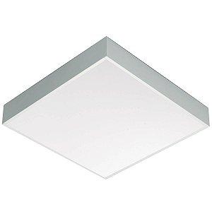 Luminária de Sobrepor Quadrada T8 4x16w - A433ACL-BM Abalux