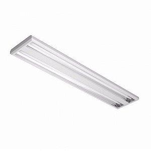 Luminária de Sobrepor Retangular 54w 2x28  - E11 Abalux