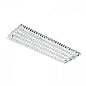 Luminária de Sobrepor Quadrada T5 4x28w - E117 Abalux