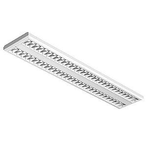Luminária de Sobrepor Retangular 54w 2x28 - E79 Abalux