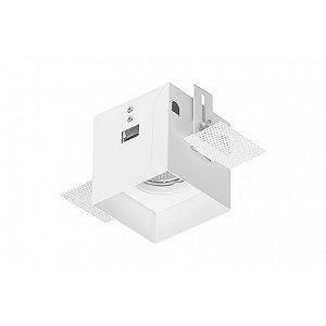 Spot de Embutir Quadrado - EF58-E1DIC Abalux