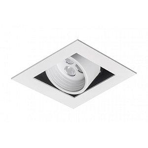 Spot de Embutir Quadrado com Facho Orientável - ER39-E1ML830MB Abalux