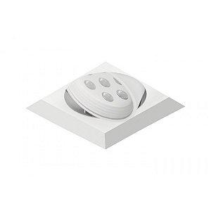 Spot de Embutir Quadrado com Facho Orientável - ER43-E1ML840MB Abalux