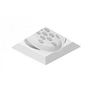 Spot de Embutir Quadrado com Facho Orientável - ER44-E1ML830MB Abalux