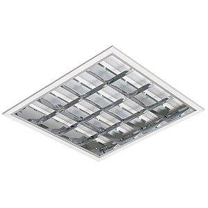 Luminária LED de Embutir Quadrada 37w 3000k 3930lm Dimerizável - LEDC01-3KD Abalux