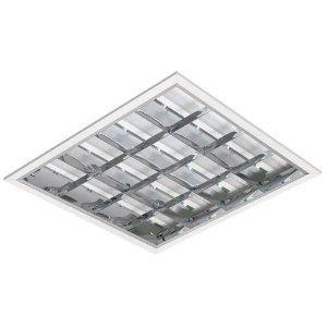 Luminária LED de Embutir Quadrada 37w 4000k 3930lm Dimerizável - LEDC01-4KD Abalux