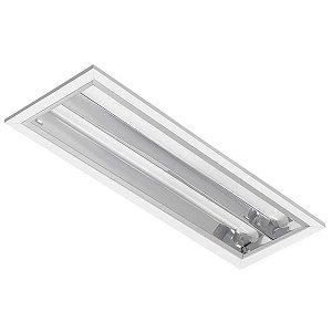 Luminária LED de Embutir Retangular 19w 4000k 1960lm - LEDC07-4K Abalux
