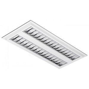 Luminária LED de Embutir Retangular 19w 3000k 1700lm  - LEDC19-3K Abalux