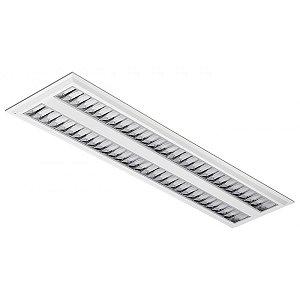 Luminária LED de Embutir Retangular 37w 3000k 3400lm - LEDC20-3K Abalux