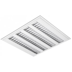 Luminária LED de Embutir Quadrada 37w 4000k 3400lm - LEDC21-4K Abalux