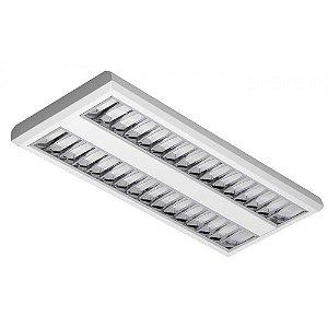 Luminária LED de Sobrepor Retangular 19w 4000k 1700lm - LEDC22-4K Abalux