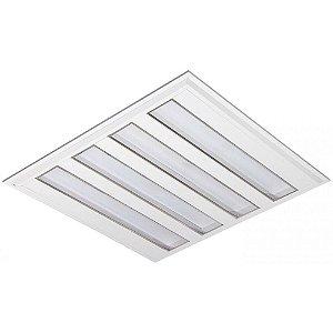 Luminária LED de Embutir Quadrada 37w 3000k 3600lm - LEDC27-3K Abalux