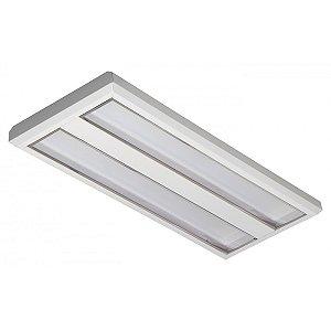 Luminária LED de Sobrepor Retangular 19w 4000w 1800lm - LEDC28-4K Abalux