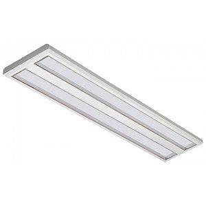 Luminária LED de Sobrepor Retangular 37w 3000k 3600lm - LEDC29-3K Abalux