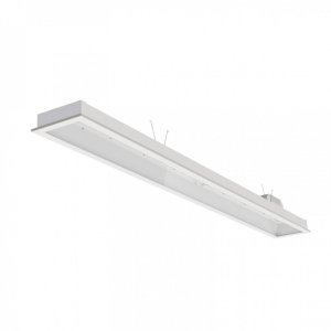 Luminária LED de Embutir Retangular - LEDC47-5K Abalux