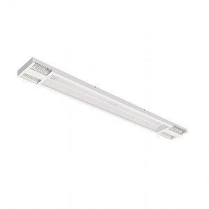 Luminária LED de Sobrepor Retangular - LEDC58-3K Abalux