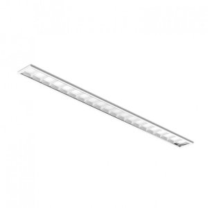 Luminária LED de Embutir Retangular - LEDC68-3K Abalux